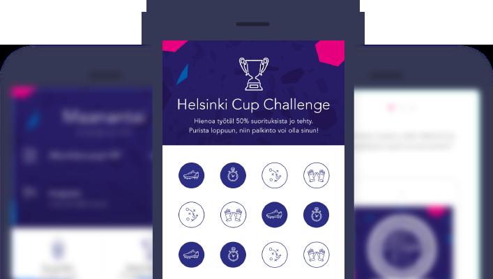 Helsinki cup Mobile app